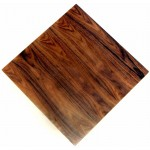 800mm, Timber Veneer Table Top, Rebate Edge, Square, Walnut